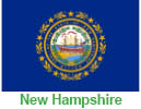 NH flag representing incentives in NH for pellet boilers