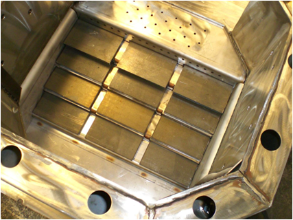 Evoworld stainless steel combustion grate